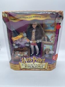 Harry Potter Magical Talking Hermione Doll Toy 2002 NIB