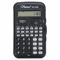 KENKO Student Electronic 10 Digits Scientific Calculator with Clock O7K9P
