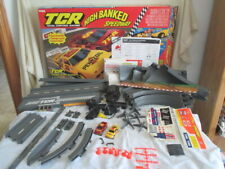 Vintage Tyco TCR High Banked Speedway  *Toy Slot Car Race Track Set