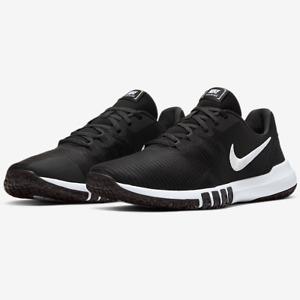 Nike FLEX CONTROL TR4 Mens Black White CD0197 002 Athletic Sneakers Shoes