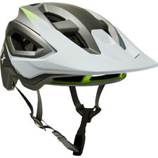 Fox Racing Speedframe Pro MIPS Downhill MTB Bicycle Helmet Repeater White Medium