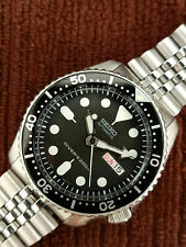 PRE-OWNED SEIKO SCUBA DIVER 7S26-0020 SKX007K2 AUTOMATIC MEN'S WATCH 300683