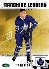 2003-04 Parkhurst Original Six Toronto Maple Leafs #92 Tim Horton