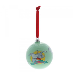 Enchanting Disney Dumbo Baby's First 1st Christmas Tree Bauble Decoration Gift