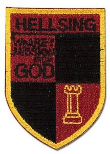 **Legit** Hellsing Ultimate Emblem Logo Symbol Iron On Authentic Patch #44560