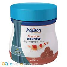Aqueon Omnivore Shrimp Food 1.5oz Jar Daily Nutrition Freshwater Shrimp Food