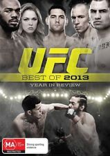 UFC - Best Of 2013 - Year In Review (DVD, 2014) Region 4
