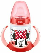 NUK First Choice Disney 150ml Learner Bottle Red