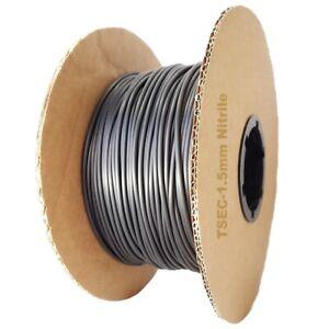 Nitrile Rubber 70 O Ring Cord 1.5MM Diameter - From 1 Metre Length [UK Supplier]