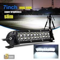 7inch 48W Barre LED Rampe Light bar phare de brume de travail  SUV 4x4 Offroad