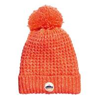 Superdry Clarrie Couture Bonnet - Fluo Corail Neuf