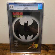 DC Comics Batman The Dark Knight #3 CGC 9.4 First Printing Frank Miller