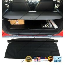 Fit For 08-15 SMART Fortwo REAR TRUNK BLACK OE STYLE RETRACTABLE CARGO COVER