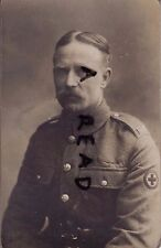 WW1  Private Young Royal Army Medical Corps RAMC 55th General Hospital Boulogne