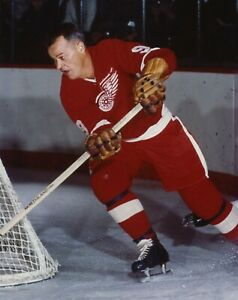 Gordie Howe Reproduction archival quality photo