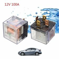 Car Automotive Auto Control Device Relay Waterproof Transparent 4pin 12V 100A