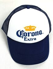 CORONA TRUCKERS CAP MERCHANDISE BEER GEAR UNISEX BLUE HAT NEW GREAT QUALITY