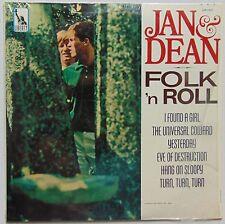 JAN & DEAN: FOLK N' ROLL shrink ORIG LIBERTY mono VINYL LP clean VG+ LOOK!