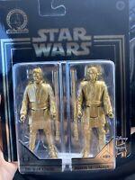 Star Wars Skywalker Saga Commemorative Edition Gold Obi-Wan & Anakin  New