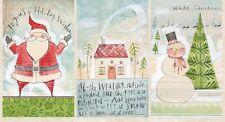 Blend Merry Stitches by Cori Dantini A Wonderful Time Fabric Panel