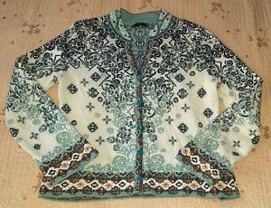 IVKO Cotton Knit Cardigan Sweater Size XXL (44)