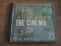 VARIOUS ARTISTS - WORLD OF THE CINEMA - (CD ALBUM 1998) VERY GOOD CONDITION