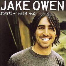 "JAKE OWEN, CD ""STARTIN' WITH ME"" NEW SEALED"