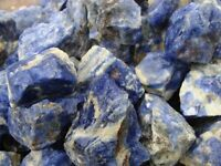 Natural Canadian BLUE SODALITE - 2000 Carat Lots - Rough Rocks - Plus FREE GIFTS