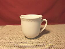 "Pfaltzgraff Dinnerware Madrid White Pattern Mug 4"""