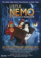 Little Nemo - Adventures in Slumberland (DVD, 2009) VERY RARE VERSION BRAND NEW