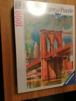 Ravensburger New york puzzle 1000 Brooklyn Bridge NEW SEALED