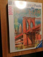 Ravensburger New york puzzle 1000 Brooklyn Bridge NEW SEALED