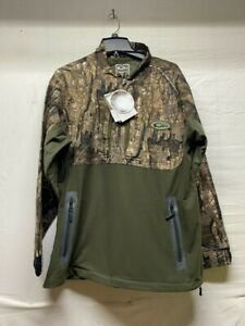 Drake waterfowl 1/4 Zip Refuge EST Pullover RealTree Timber Lg banded avery hunt