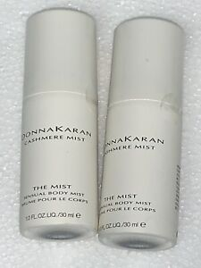 Donna Karan Cashmere Mist 1 oz mini sensual Body mist spray for women