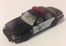 Matchbox 2005 Crown Victoria Black Diecast Highway Patrol Police Car - RARE 1:64