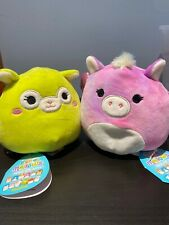Kellytoy Squishmallow Flipamallow Brand New item !! HTF Pegasus And LLama Flip