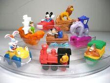 Disney Disneyland Adventures 40th Annv Fast Food Toy Viewers Complete Set 1994
