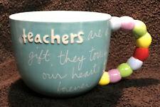 "Large Teacher Coffee/Tea Mug Sandra Magsamen ""Teachers are a Gift"" Over-Sized"
