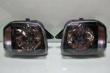 JDM Suzuki Jimny Sierra Wide JB23 98-12 Black Inner Headlights Head Lamps Lights