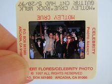 More details for original press photo slide negative - motley crue - 1997 - h