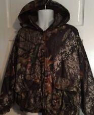 Men's Woolrich Insulated Mossy Oak Camo Hunting Coat Jacket Reversible Size XL