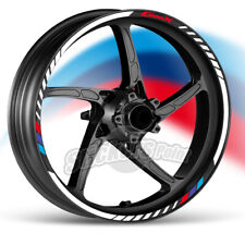 kit Adesivi moto BMW C 400 X strisce RACING9 cerchi ruote stickers label
