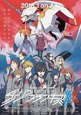 Poster A3 Darling In The Franxx Zero Two Hiro Ichigo Anime Manga Cartel 03