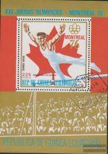 Guinée équatoriale Bloc 223 (complète edition) oblitéré 1976 Jeux Olympiques Été