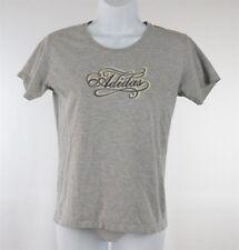 Adidas Womens Gray T-Shirt Size Medium