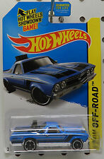 CHEVY EL CAMINO BLUE TRUCK DRAG RACE 1968 REAR ENGINE SS GM HW HOT WHEELS