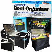 SW Collapsible Boot Tidy Organiser with Removable Cooler Compartment -UpTo 25kg