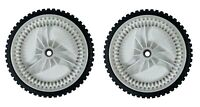 "New 2(Two) 8"" Front Drive Wheels Fits Craftsman Replaces 401274x460, 583719501"