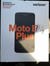 Verizon Motorola Moto E4 Plus 16 GB Prepaid Phone New Sealed