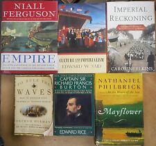 Rise & Fall of the British Empire: Imperial Rationale, Colonial, Navy 6 book lot